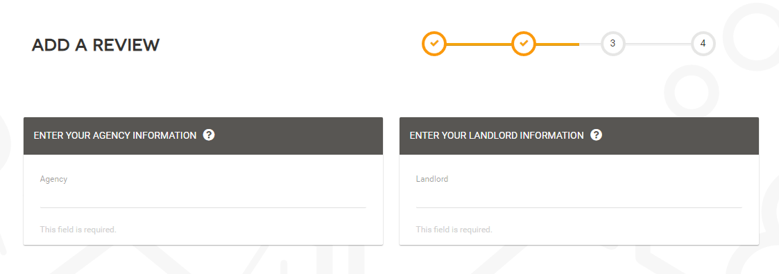 Add a review to Marks Out Of Tenancy - Step 4
